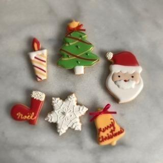 クリスマスモチーフ/アイシングクッキーレッスン