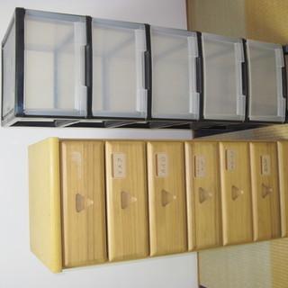 5段収納ボックス+6段収納ボックス