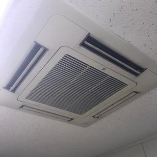 業務用エアコン洗浄します