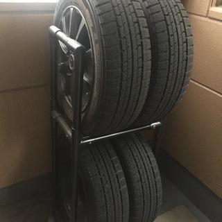 スタッドレスタイヤ・ホイールセット 175/65R14