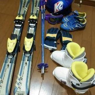 子供用 スキー板110 ブーツ 100~130 セット おまけ多数