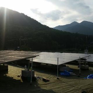 【急募】太陽光発電設置工事 2名募集!