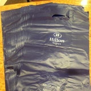 (商談成立)ヒルトンホテルのビニール袋48枚