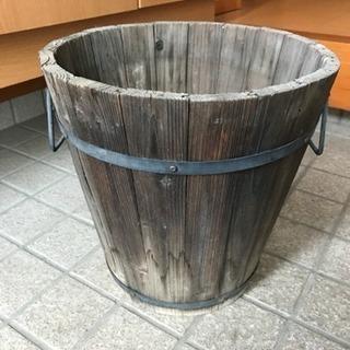 木製 シャビー アンティーク プランター 鉢