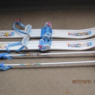 幼児用プラスティック製スキー