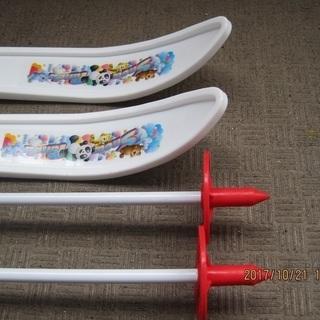 幼児用プラスティック製スキー - 家具