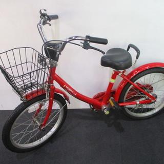ANTHNY 自転車 18インチ レッド 子供用 チャリ