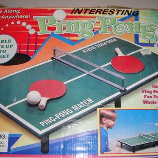 (UE020)ミニ卓球ゲーム