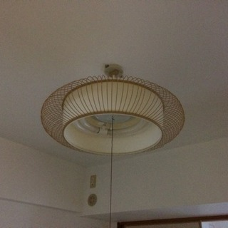 和室照明 電球付き