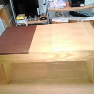 引き出し収納付き テーブル 美品 ディノス ベルメゾン