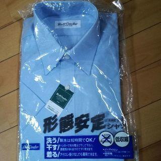 【新品!】メンズ形態記憶半袖シャツ