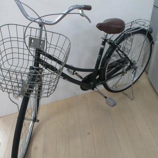 Free&Easy 自転車 26インチ グリーン ママチャリ