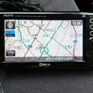 ポータブルナビ  ゴリラ  NV-SD580DT