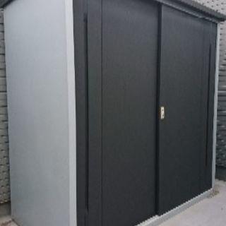 スチール収納庫 倉庫 コンテナ 物置 組み立て式 福岡市内取りに来...
