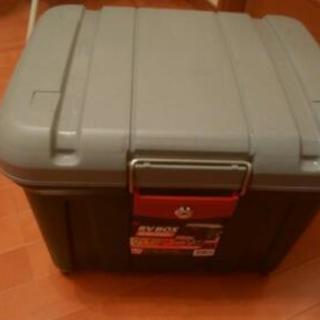 RV BOX鍵付き新品30L