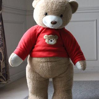クマの大型ぬいぐるみ、売ります!
