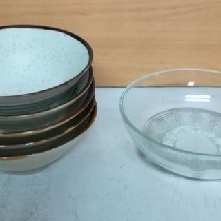 丼 及び ガラス鉢