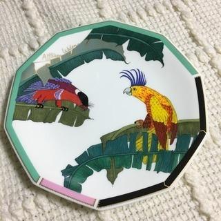 資生堂  インコのお皿