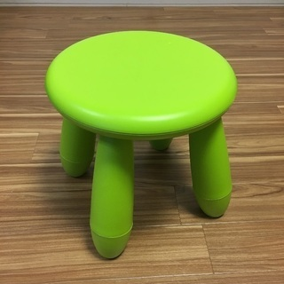 IKEA イケア  MAMMUT 子供用スツール 椅子 いす チェア