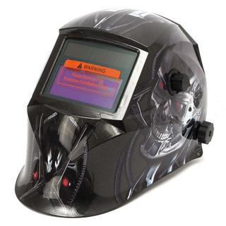 ●ターミネーター柄の自動遮光溶接マスク●新品●