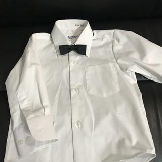 100 ワイシャツ+蝶ネクタイセット