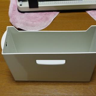 キングジム G-BOX HARD A4-E 100㎜ ホワイト
