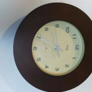 ☆美品☆エレガント電波掛け時計