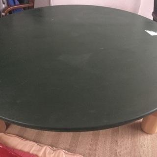 直径150cm木製円形テーブル