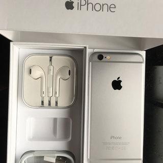 APPLE iPhone 6 スペースグレイ 付属品あり