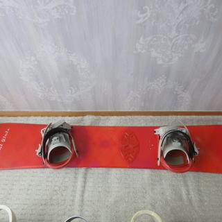スノーボード板ビンディングセット