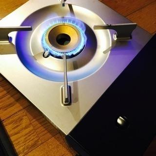 美品:卓上薄型カセットコンロ