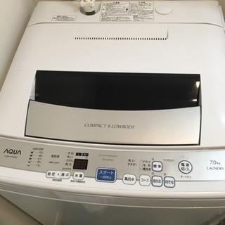 アクア AQUA 洗濯機 AQW-P70D