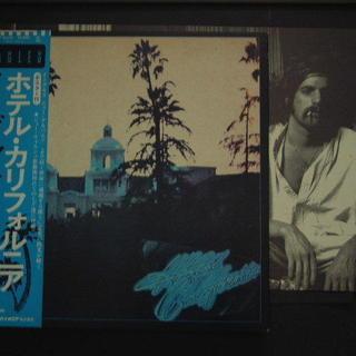 ★レコードLP盤 イーグルス/ホテル・カリフォルニア/ポスター 帯...
