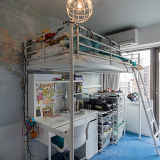 IKEA☆ロフトベット☆白☆マットレス付