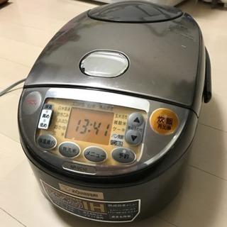 【無料】早い者勝ち。象印2012年製5.5号炊炊飯器