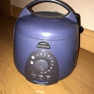 (只今商談中)日立製 3号 炊飯器300円