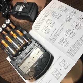 タミヤ ネオチャンプ10本 充電器セット!