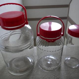 果実酒用瓶 3種 中古
