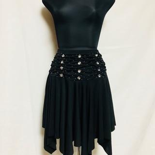 社交ダンス スカート 黒系