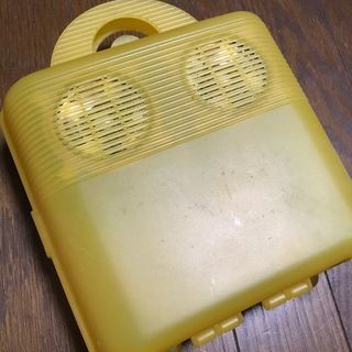 防水型ステレオスピーカー(お風呂とかで使えます)