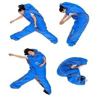 人型シュラフ 人型寝袋 アウトドア キャンプ