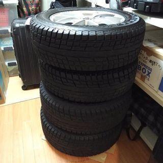 【美品】225/65R17 スタッドレスタイヤ ホイール付き