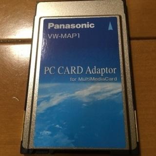 【中古】ノートPC用カードアダプター/SDカード用