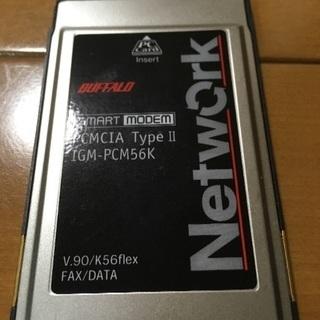 【中古】ノートPC用カードアダプター/ネットワーク用