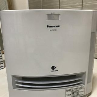 Panasonic nanoe 加湿機能付セラミックファンヒーター