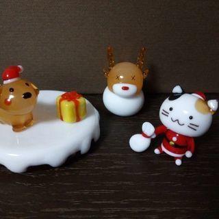 【終了】クリスマス ガラス飾り