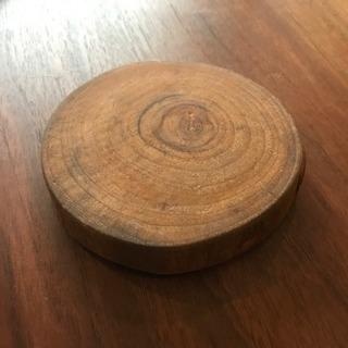 手作り ウッド コースター 木製 木 ハンドメイド コルク
