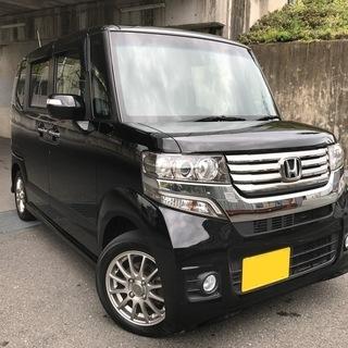 ⭐️【全コミ89万円】H25 NBOX カスタムGターボPKG★車...