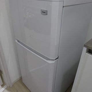 【美品】Haier 106L 冷蔵庫