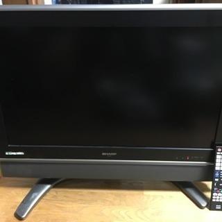 シャープアクオス32型テレビ